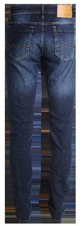 Calça masc. slim jeans escuro  - Grife Valley