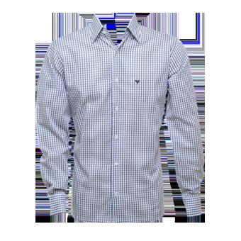 Camisa masc. xadrez c/ verde   - Grife Valley