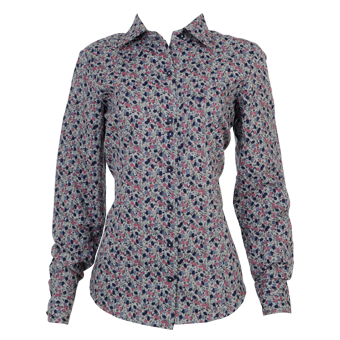 Camisa fem. floral ML   - Grife Valley