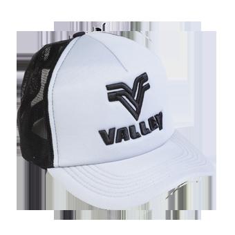 Boné trucker Valley cinza c/ preto  - Grife Valley