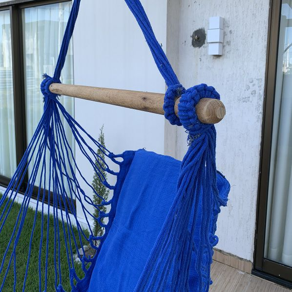 Rede Cadeira Cor Azul
