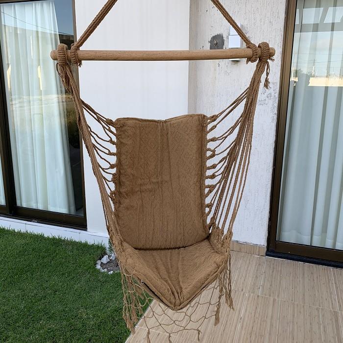 Rede Cadeira cor Caramelo