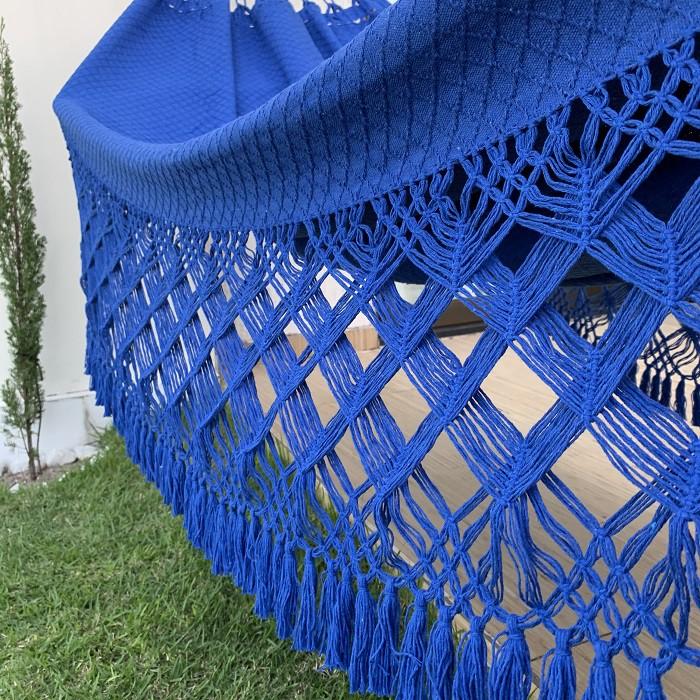 Rede de Descanso Casal Bucho de Boi Azul Royal