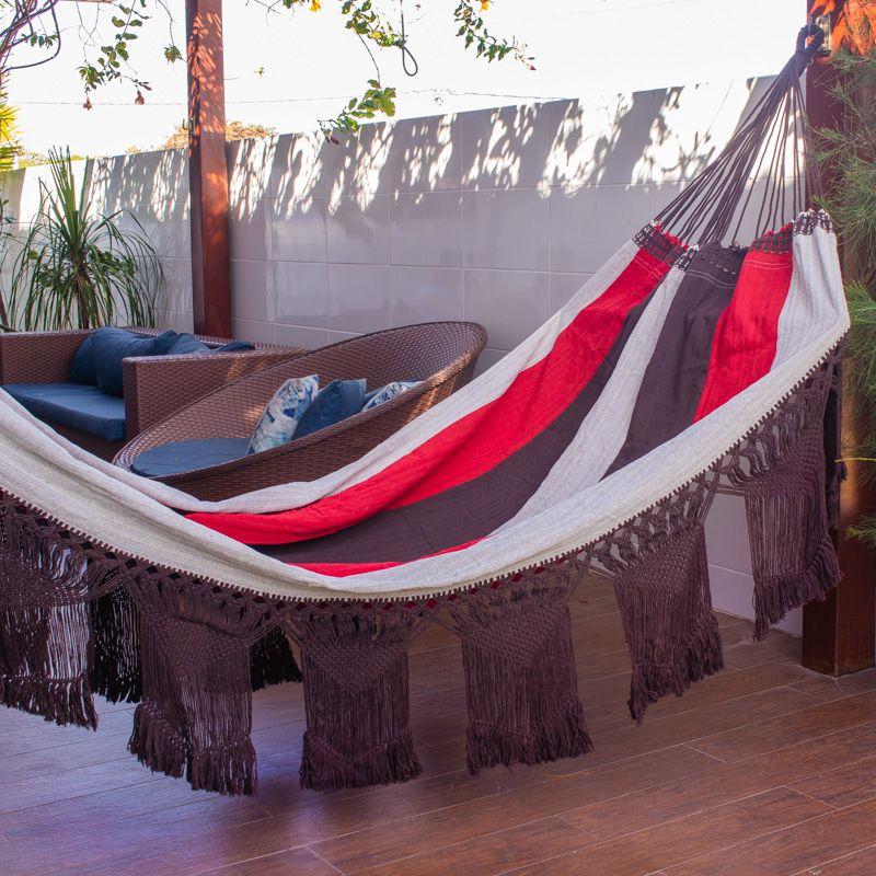 Rede de Dormir e Descanso Casal Cangaço