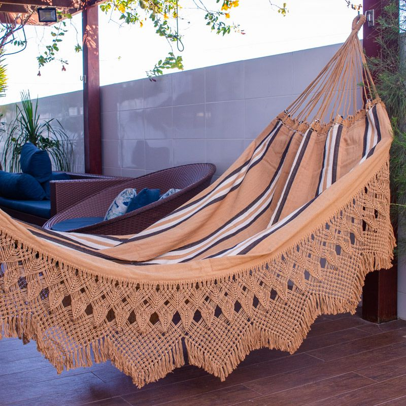 Rede de dormir e Descanso Casal Jaguaruana Gibão