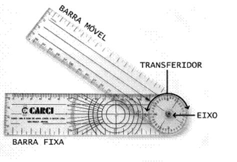 Goniômetro Grande  - HB FISIOTERAPIA