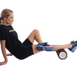 Rolo Para Yoga e Relaxamento Com Ranhuras PROACTION - GA043  - HB FISIOTERAPIA