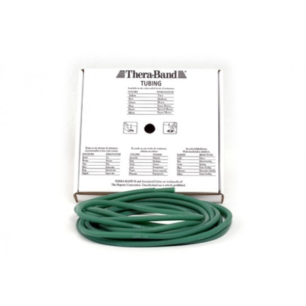 Thera tubing verde - SUAVE MÉDIA  - HB FISIOTERAPIA
