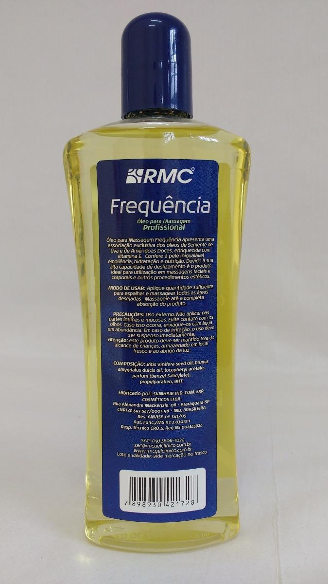 Frequencia Oleo Vegetal 300ml  - HB FISIOTERAPIA