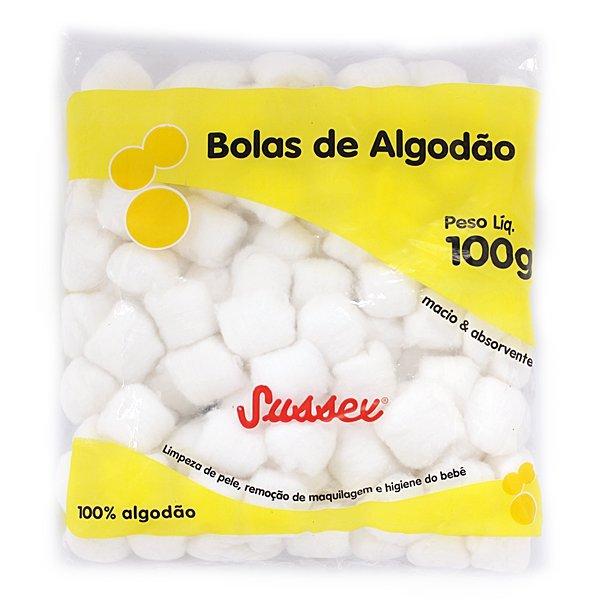 Bola de algodão  100g  - HB FISIOTERAPIA