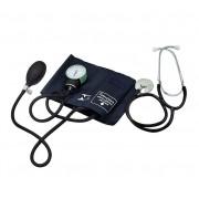 Aparelho de Pressão Arterial c/ Estetoscópio - Velcro - Premium