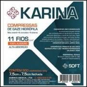 COMPRESSA DE GAZE 11 FIOS C/ 500UN