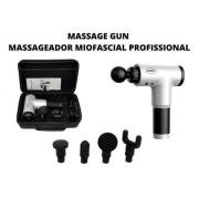 Massageador Massage Gun Supermedy 4 Ponteiras