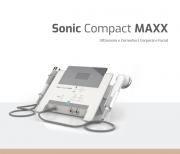 Sonic Compact Maxx HTM - Aparelho de Ultrassom e Multicorrentes - 2 canais