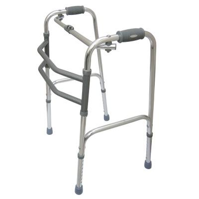 Andador Articulado Dobrável em Alumínio - Mercur - HB FISIOTERAPIA