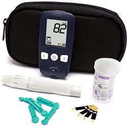 Kit Medidor de Glicose - G-Tech Free  - HB FISIOTERAPIA