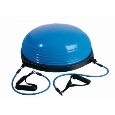 Balance Dome com Elásticos (Bosu) - HB FISIOTERAPIA