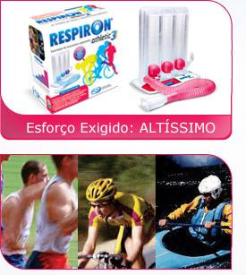 Respiron Athletic 3 - Incentivador para Fisioterapia Respiratória - NCS  - HB FISIOTERAPIA