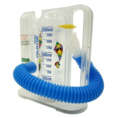 Voldyne Infantil  2500 - Incentivador para Fisioterapia Respiratória - Hudson  - HB FISIOTERAPIA