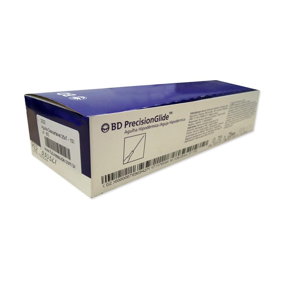 Agulha para Carboxiterapia 0,30x13 Caixa com 100 un - BD  - HB FISIOTERAPIA