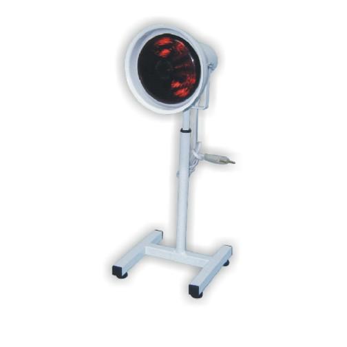 Suporte de Mesa p/ Lâmpada de Infra Vermelho IV-04  c/ Refletor Móvel e Altura Regulável - HB FISIOTERAPIA