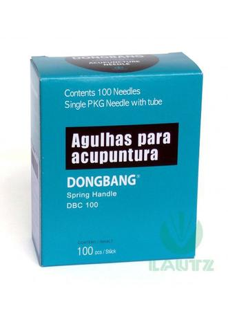 Agulha Sistêmica Individual Dong Bang 0,25x30 C/100 Un  - HB FISIOTERAPIA
