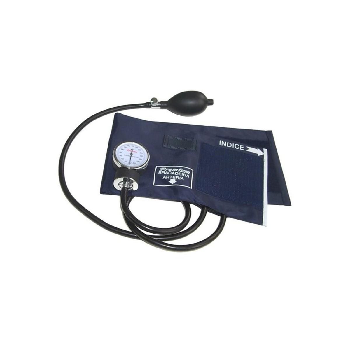 Aparelho de Pressão Esfigmomanômetro Velcro - Premium  - HB FISIOTERAPIA