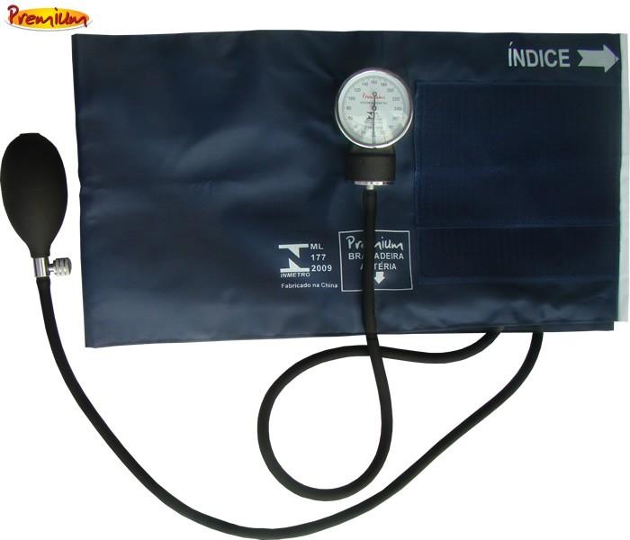 Aparelho de Pressão Esfigmomanômetro Grande Nylon Velcro - Premium  - HB FISIOTERAPIA
