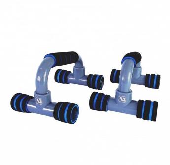 Apoio para flexão de Braço Simples - Azul - Liveup Sports  - HB FISIOTERAPIA
