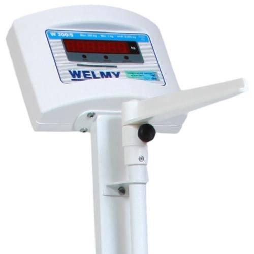 Balança Digital com Régua Antropométrica - W200A - Welmy - HB FISIOTERAPIA