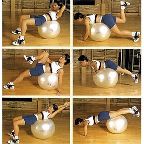 Bola Bobath Fit Ball  Gymnic 65cm Perolada  - HB FISIOTERAPIA