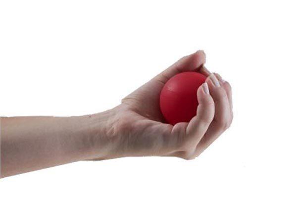 Bola exercitadora de mão lisa - HB FISIOTERAPIA 99eba05541ecb