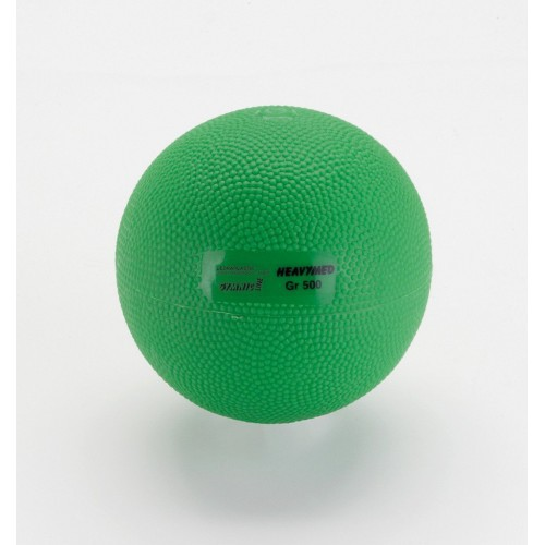 Bola Heavymed 500g- verde  - HB FISIOTERAPIA