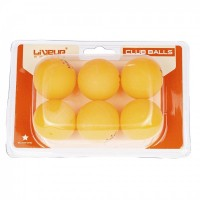 BOLAS PING PONG - LIVEUP SPORTS - 6UND  - HB FISIOTERAPIA