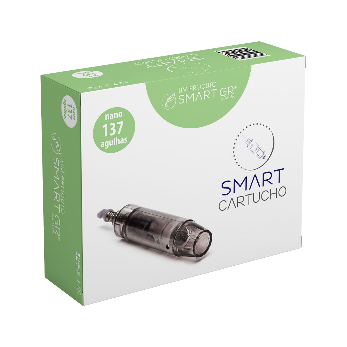 Cartucho Smart Derma Pen 137 agulhas (nano) - Vendido a Unidade  - HB FISIOTERAPIA