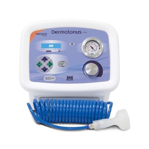 Dermotonus Slim - Aparelho de Vacuoterapia / Endermologia e Peeling de Diamante Facial e Corporal  - HB FISIOTERAPIA