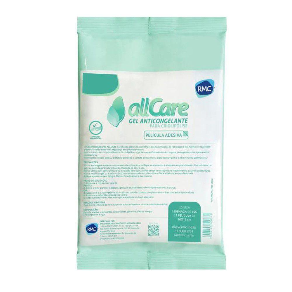 Gel Anticongelante 10g Allcare, Com Película Protetora - RMC  - HB FISIOTERAPIA