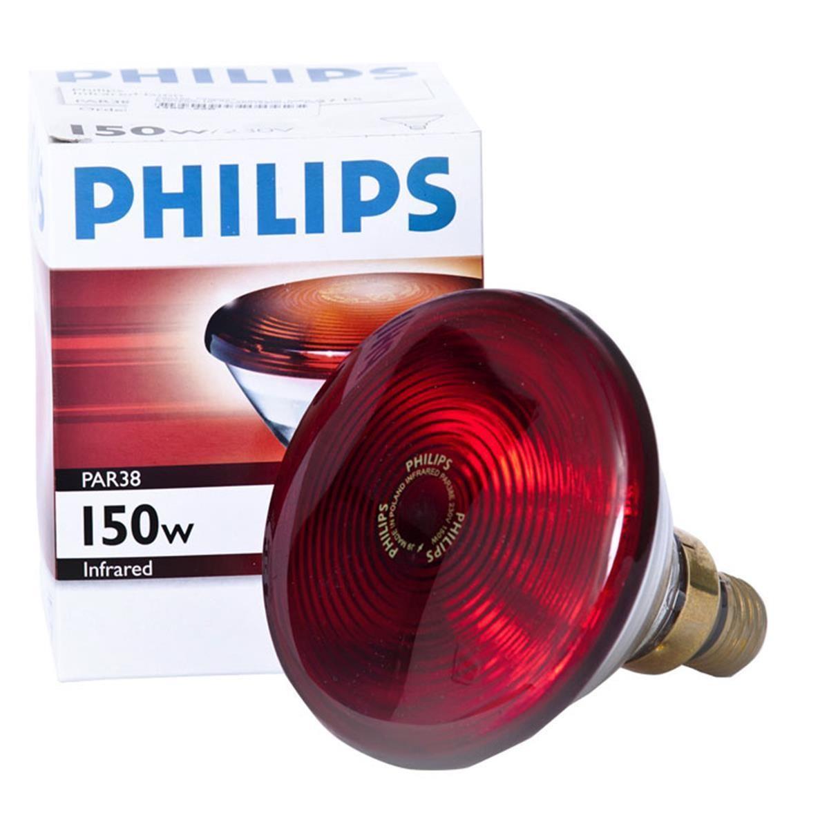 Lâmpada de Infra Vermelho 150 Watts - Marca:  PHILIPS  - HB FISIOTERAPIA