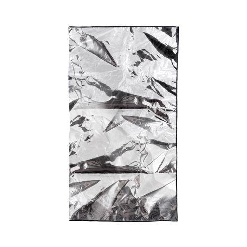 Lençol de Aluminio - MANTA FORRADA C/ PLASTICO INC. E VIEZ - 1M X 1,80M.  - HB FISIOTERAPIA