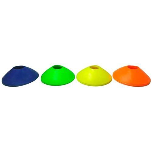 Mini Cones de Agilidade com 20 Und ( Chapeu Chines)   - HB FISIOTERAPIA