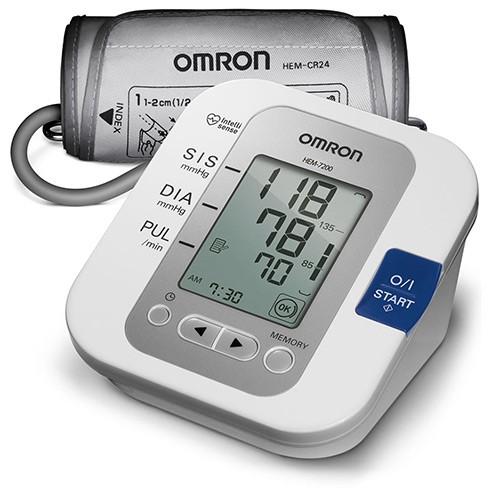 Monitor de pressão Arterial Automático Ref: HEM-7200- BR  - HB FISIOTERAPIA