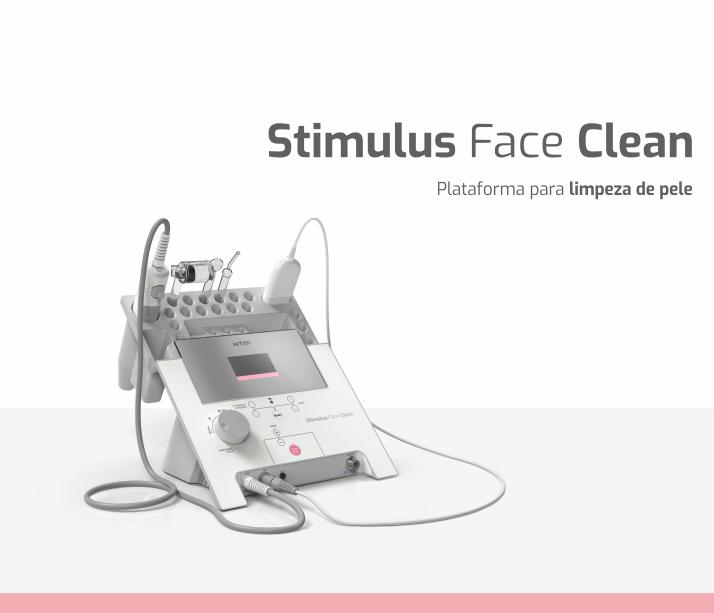 Stimulus Face Clean HTM - Aparelho de Alta Frequência, Vacuoterapia, Peeling Ultrassônico e Corrente de Baixa Frequência  - HB FISIOTERAPIA