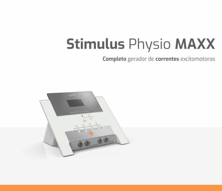 Stimulus Physio Maxx HTM - Aparelho de Multicorrentes  - HB FISIOTERAPIA
