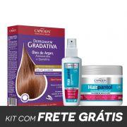 Combo Defrizagem Óleo de Argan + Máscara Hairpantol + Spray Hairpantol
