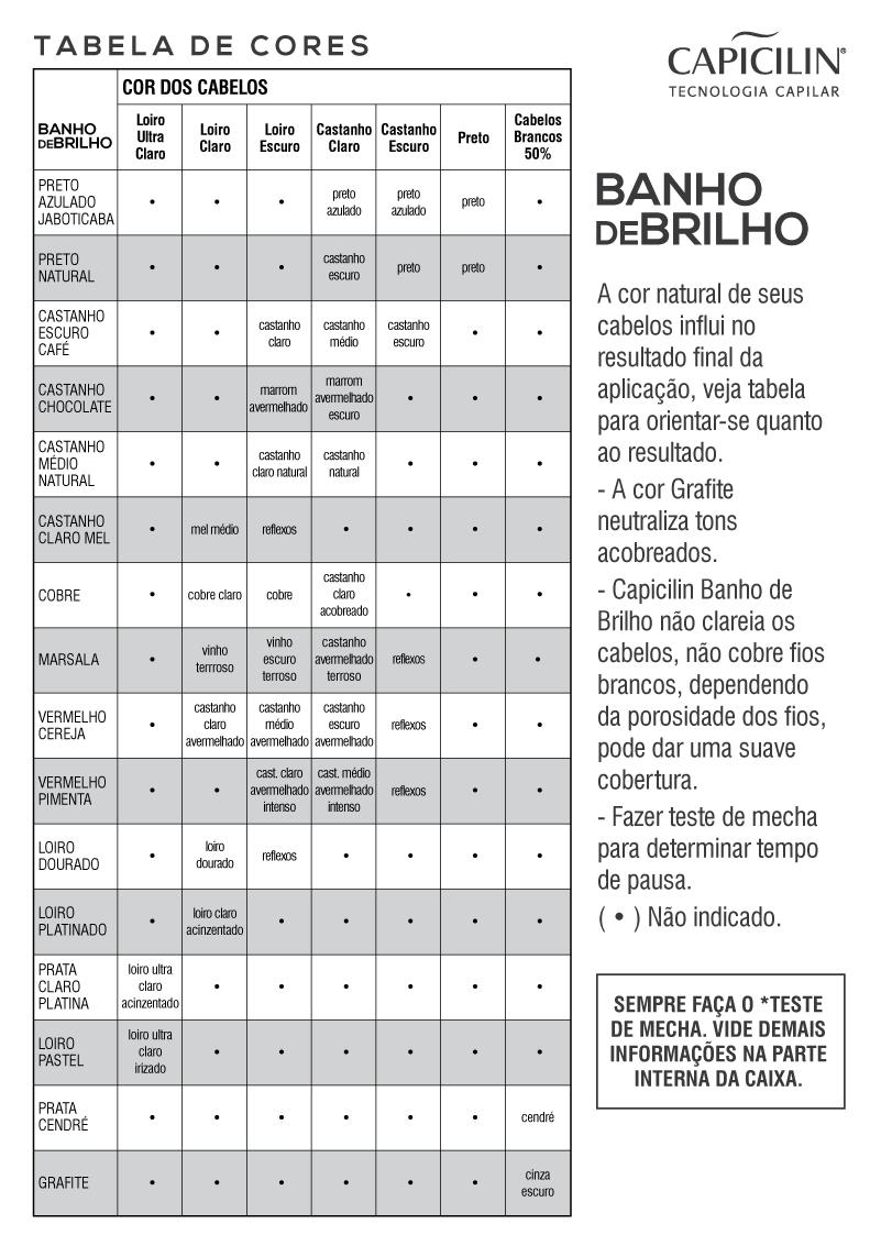 BANHO DE BRILHO - Castanho Claro Mel 100g