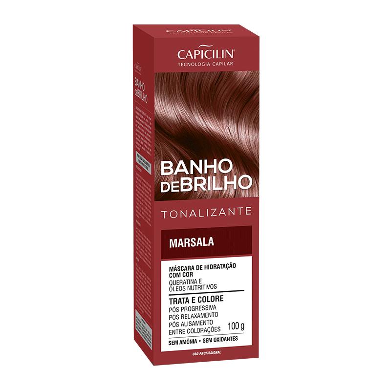 BANHO DE BRILHO - Marsala 100g