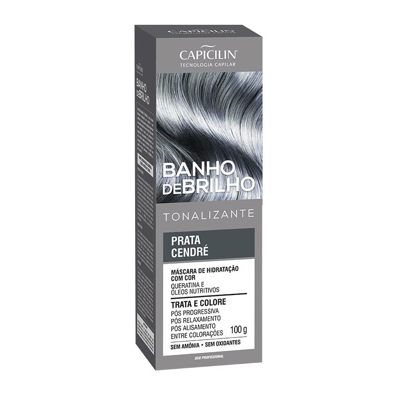BANHO DE BRILHO - Prata Cendré (100g)