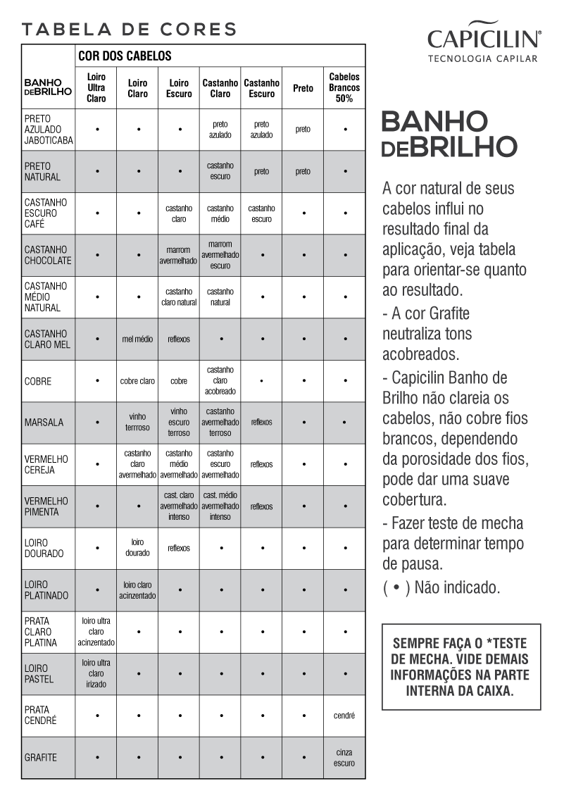 BANHO DE BRILHO - Prata Claro Platina (100g)