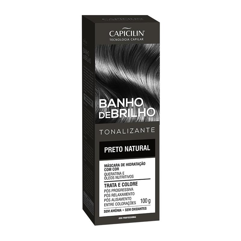 BANHO DE BRILHO - Preto Natural (100g)