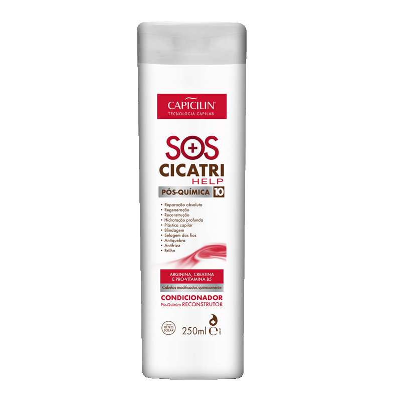 SOS Cicatrihelp - Condicionador 250ml